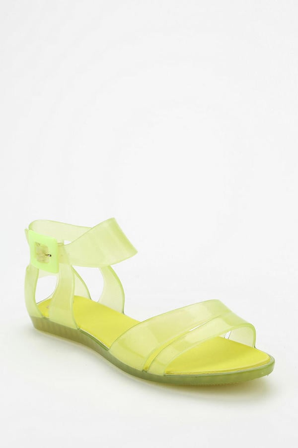 The jelly shoe has officially been resurrected from the '80s. Grab a version for today, like this neon Mel by Melissa flat ($42).