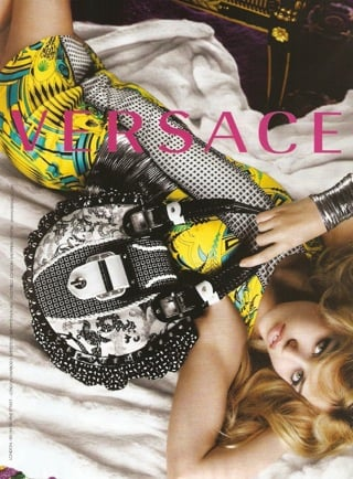 Georgia May Jagger Versace Ad Campaign Spring 2010 2009-12-30 10:00:08