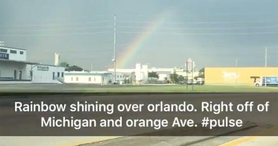 Rainbow Appears Over Pulse Nightclub After Tragic Orlando Massacre