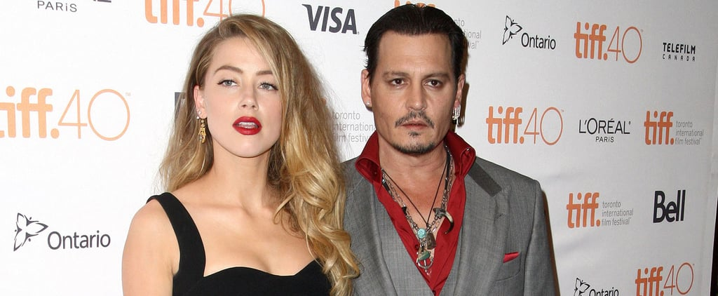 Johnny Depp and Amber Heard's Chemistry Is Officially Out of Control