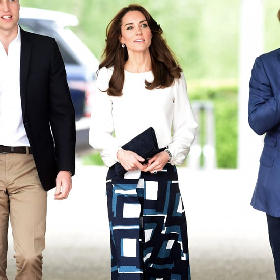 Kate Middleton Banana Republic Skirt May 2016
