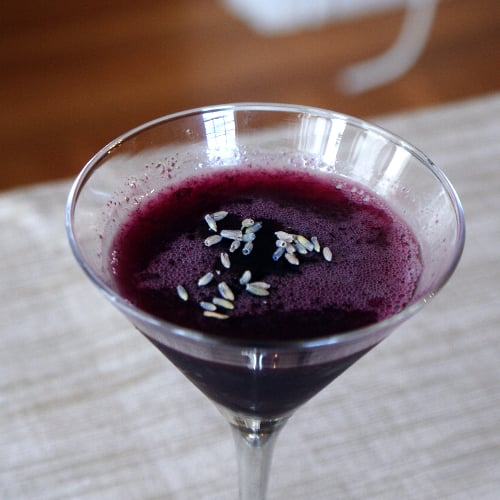 Blueberry Gimlet