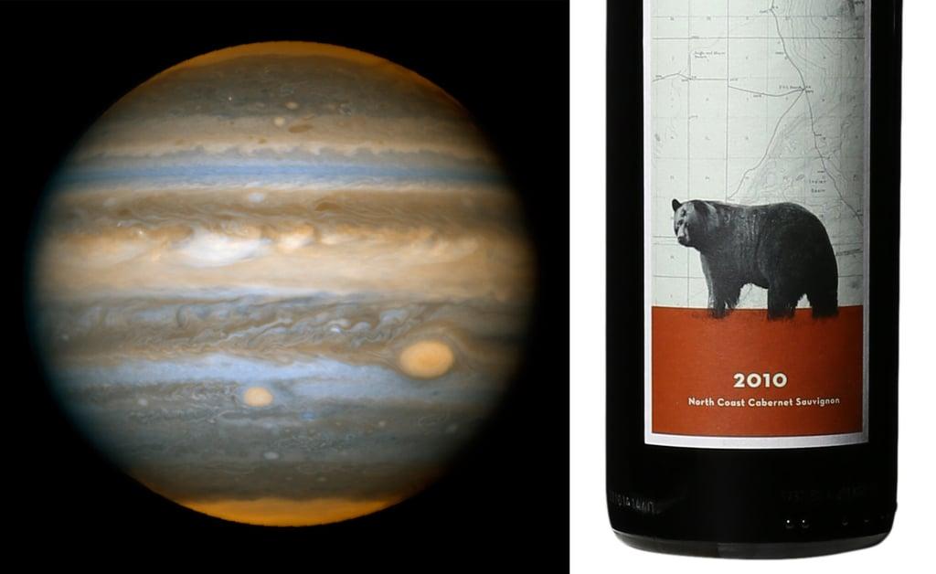 Jupiter and Cabernet Sauvignon