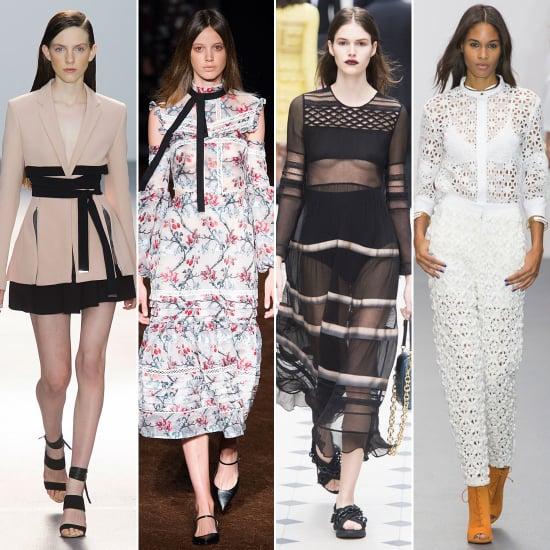 London Fashion Week Trends Spring 2016