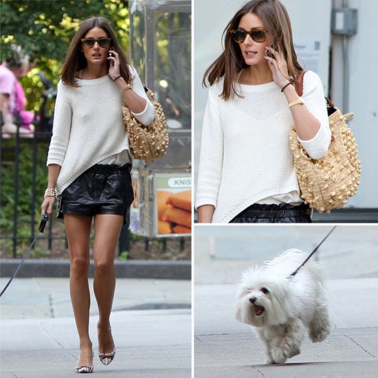 See Olivia Palermo's Perfect NYC Street Style From Every Angle: Even Walking Her Cute Pup She Looks Polished!