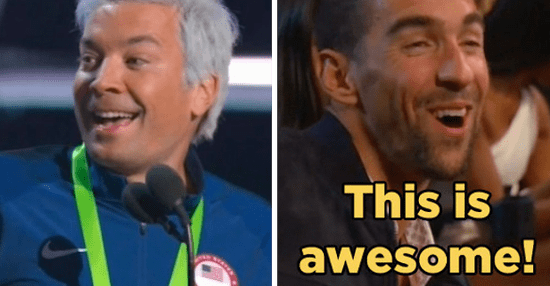 Michael Phelps Was All About Jimmy Fallon's Ryan Lochte Impression