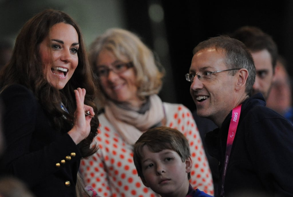 Kate Middleton Looks Sharp at a Paralympics Medals Ceremony