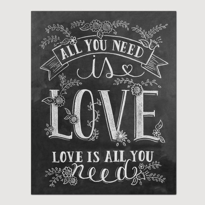 All you need is love ($19-$29)