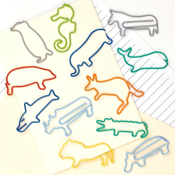 Animal Paperclips Set ($8)