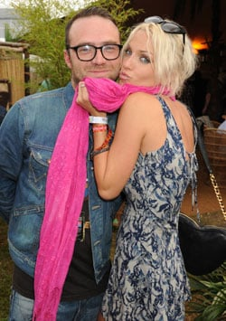 Pictures of Sarah Harding and Tom Crane Who Are Engaged