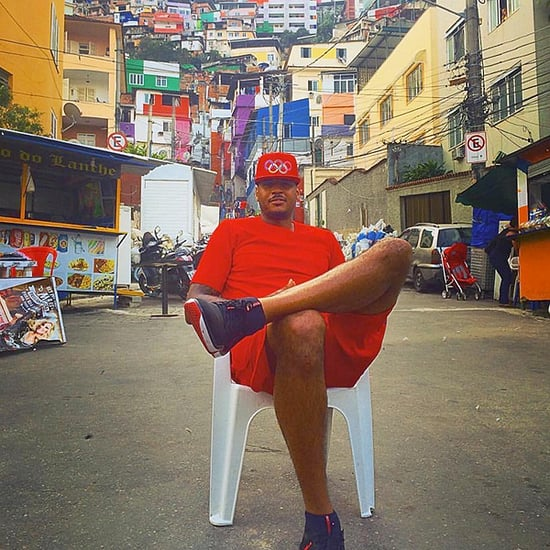 Carmelo Anthony Leaves Private Cruise Ship to Spend Time in Rio's Downtrodden Favelas