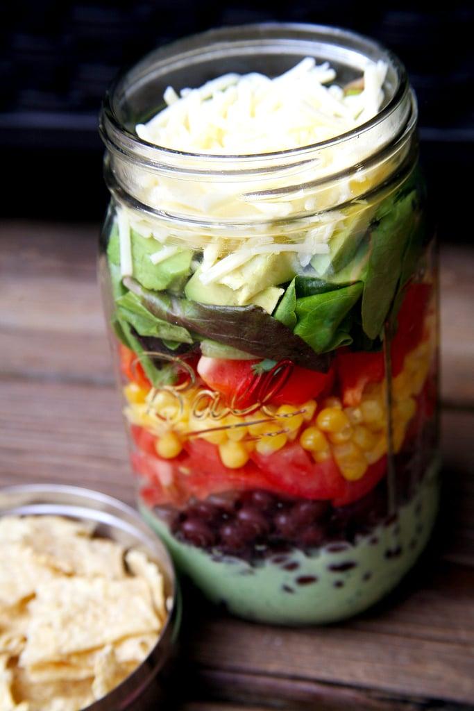 Easy Vegetarian Taco Salad