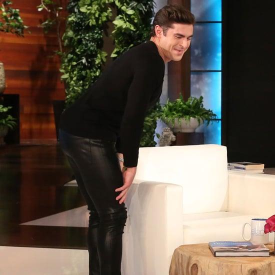 Zac Efron Twerks on The Ellen DeGeneres Show