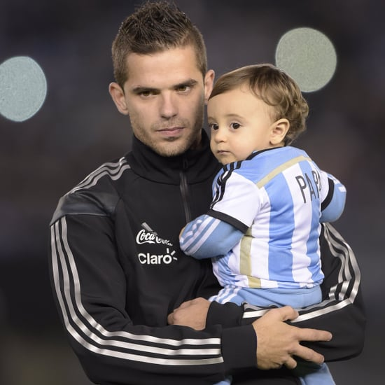 Pictures of World Cup Soccer Stars and Their Kids