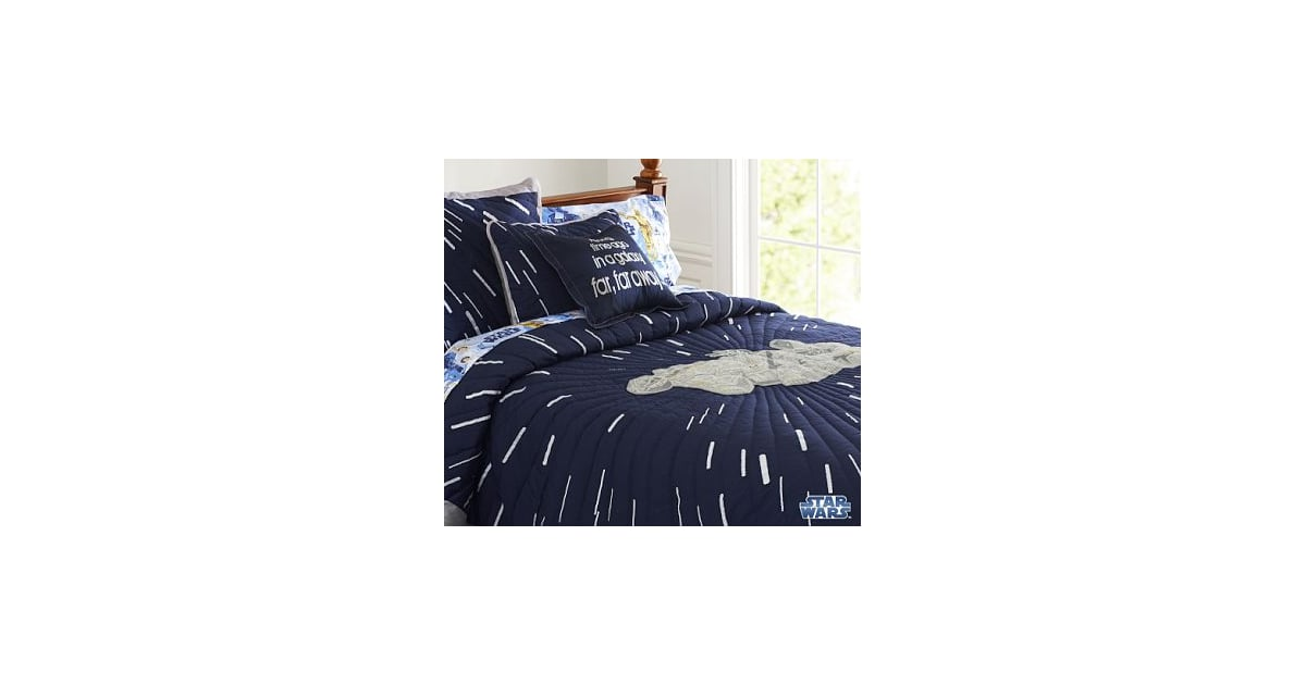 Star Wars Quilt From Pottery Barn Kids Is On Sale Now