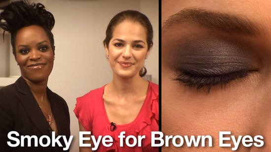 Smokey Eye Makeup Demo for Brown Eyes 2010-10-01 09:00:00