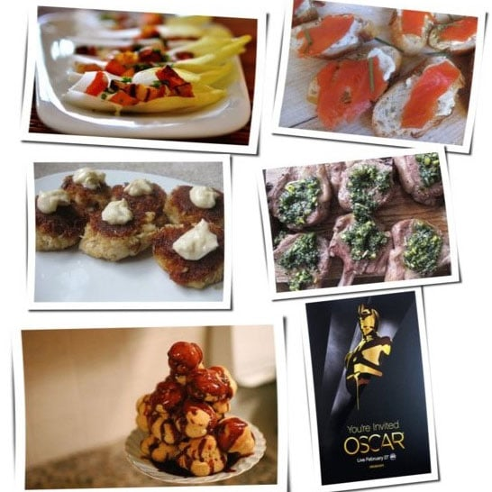 Oscars Party Menu and Recipes