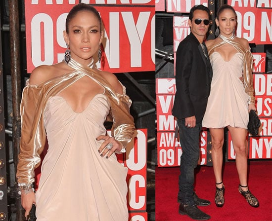 Photos of Jennifer Lopez and Marc Anthony at VMAs