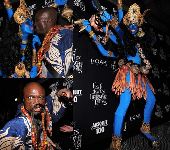 Photos of Heidi Klum, Seal, Christian Siriano, Kyle MacLachlan at Klum's Halloween Party at 1 Oak