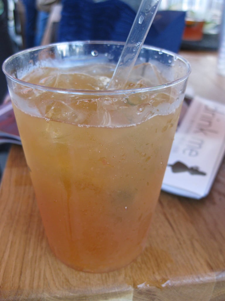 Pineapple Pimm's Cup