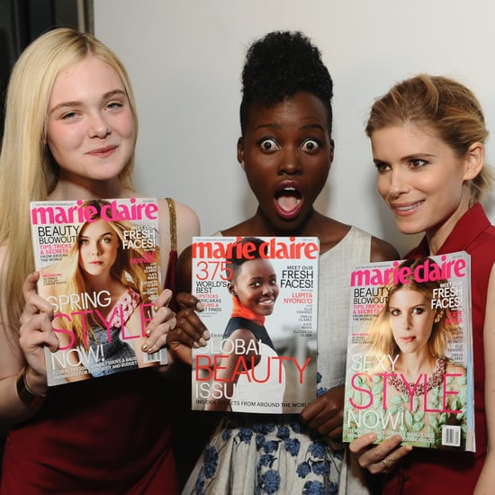 Elle Fanning in Marie Claire's Fresh Faces Issue