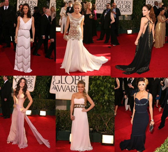 The Golden Globes Red Carpet: Grecian Goddesses