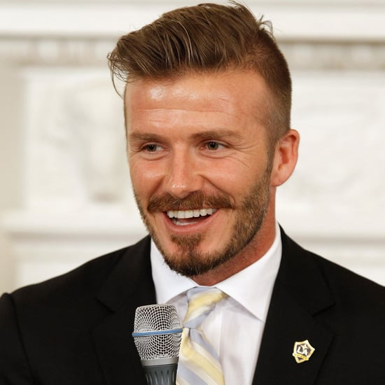 David Beckham LA Galaxy Pictures at White House