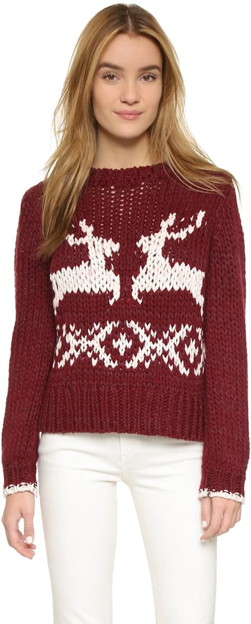 Free People Dancer and Prancer Sweater ($168)