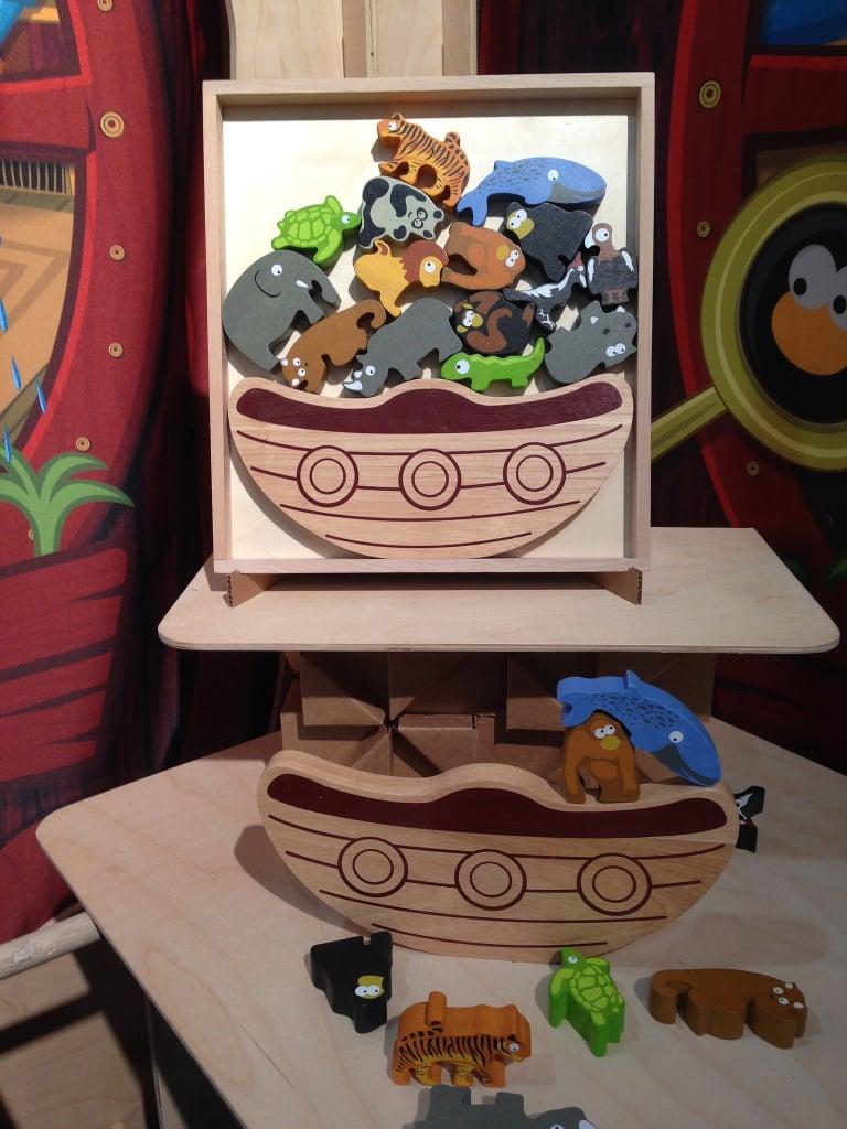BeginAgain Toys Noah's Ark Puzzle