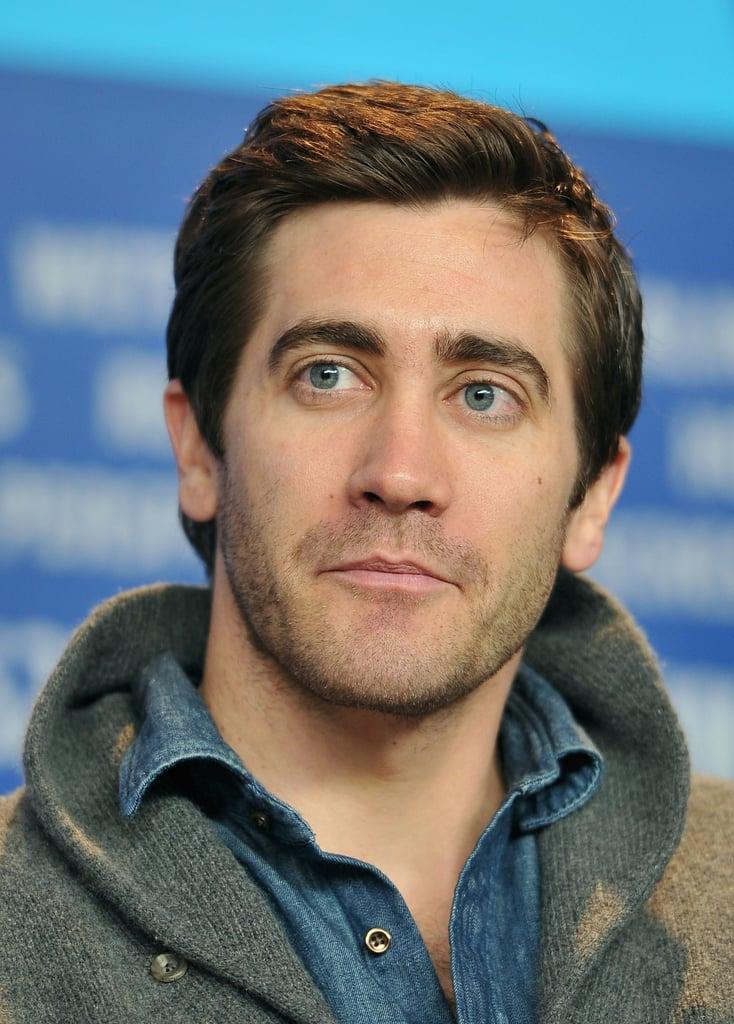 Jake Gyllenhaal struck a handsome pose.