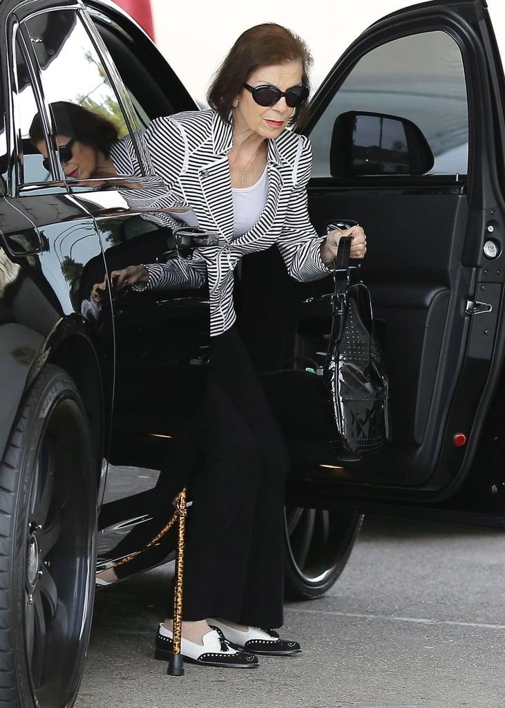 Kim Kardashian Spends Quality Time With Her Grandmother