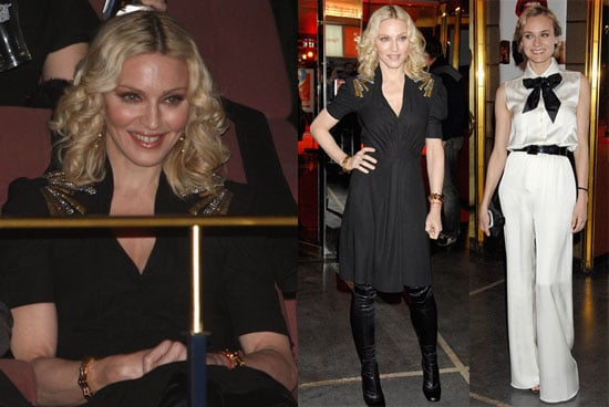 Madonna and Diane Kruger at the Berlin Film Festival Premiere of Filth and Wisdom