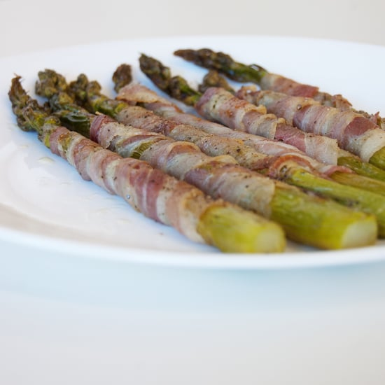 Pancetta-Wrapped Asparagus Recipe 2010-05-12 12:19:18