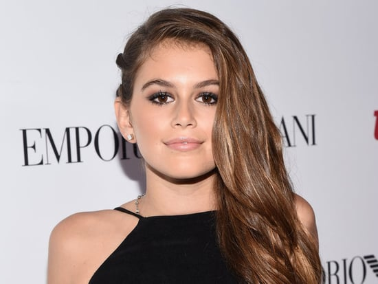 Cindy Crawford's Daughter Kaia Gerber Lands Her First Acting Job