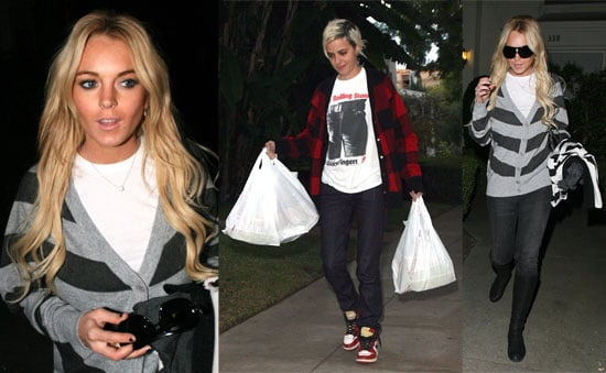 Lindsay and Samantha Spend an Evening With Take Out