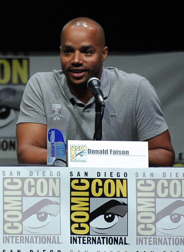 Donald Faison attended Comic-Con.