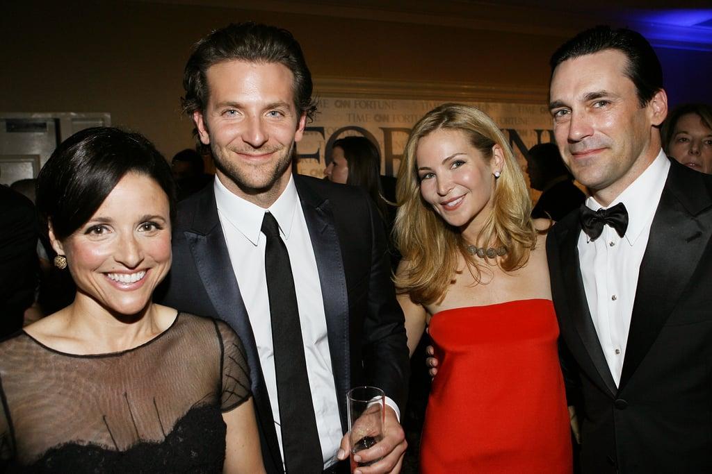 Julia, Bradley, Jennifer, and Jon
