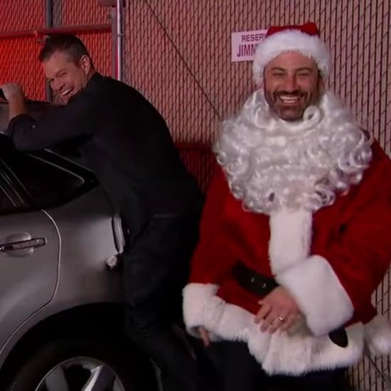 Matt Damon Pranks Jimmy Kimmel December 2015