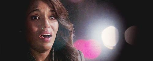 Best Lip Quiver in a Drama: Kerry Washington, Scandal
