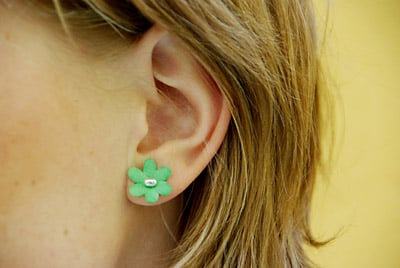 These Bloomin' Earrings Smell (Really)