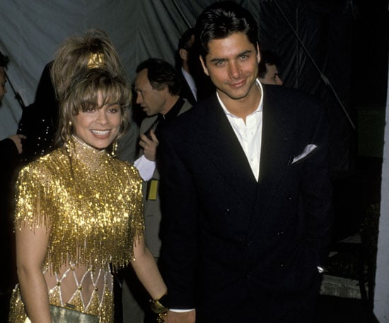 Paula Abdul arrived in 1990 hand in hand with John Stamos.