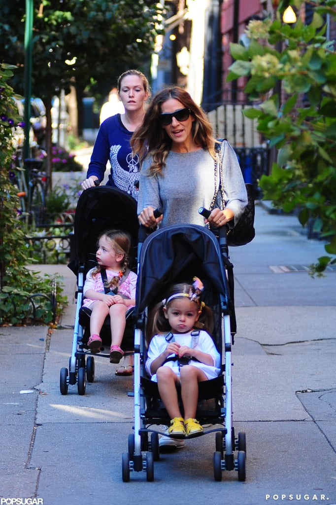 Sarah Jessica Parker Breaks From the Front Row For the School Run