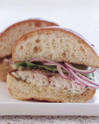 Today's Special: Spicy Snapper Sandwiches