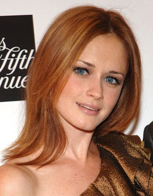 Picture of Alexis Bledel With Red Hair 2010-09-15 14:00:00