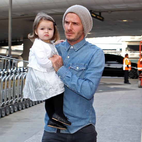The Beckhams Flying to London
