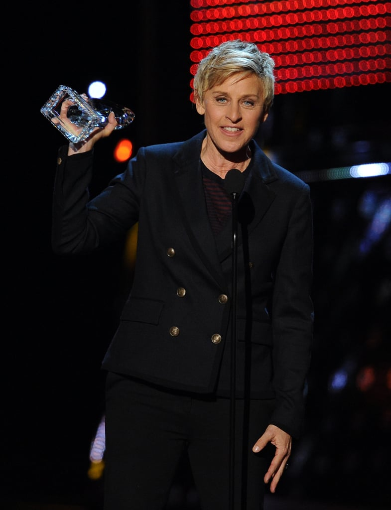 Ellen DeGeneres snagged her 14th People's Choice Award.