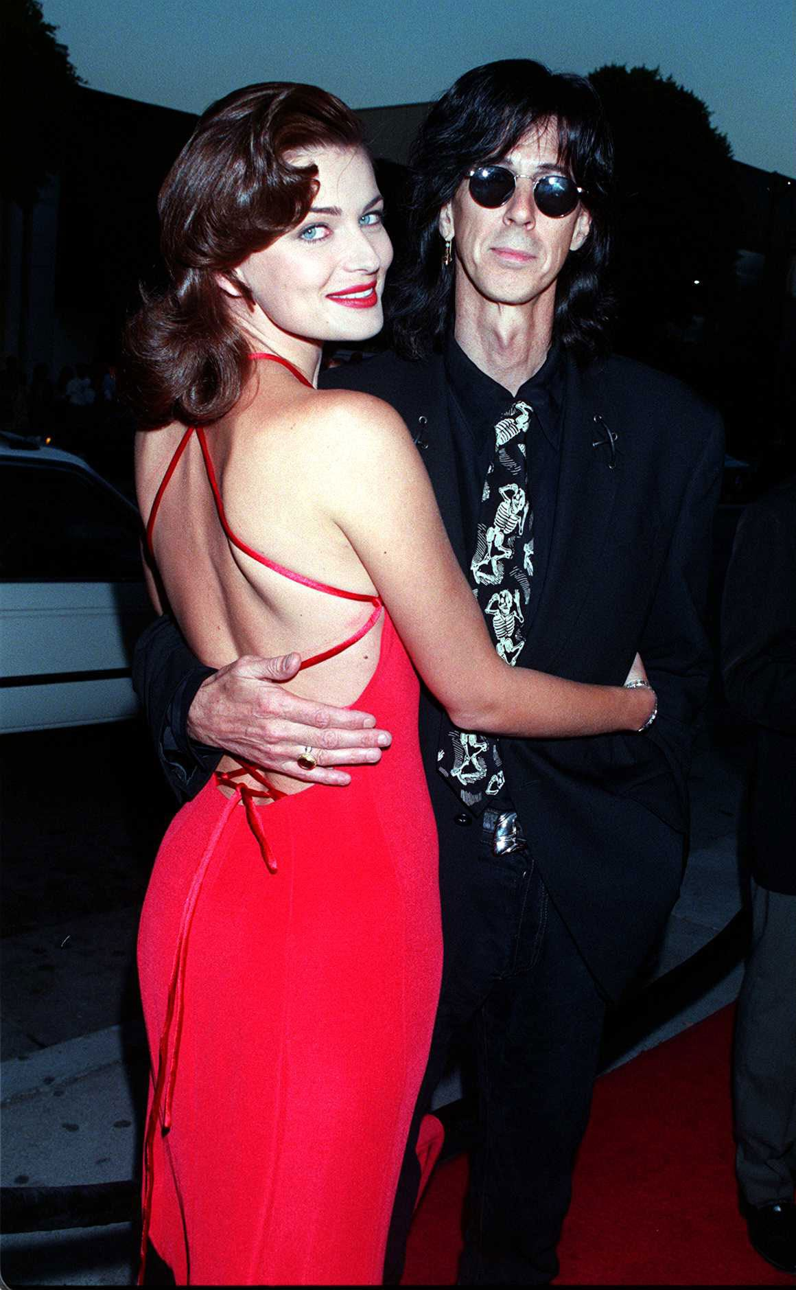Paulina Porizkova and Ric Ocasek, lead singer for The Cars, have been married since 1989.