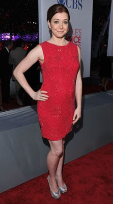 Alyson Hannigan in Alice + Olivia at People's Choice Awards