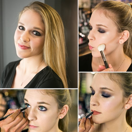 Ring In the New Year With a Purple Smoky Eye