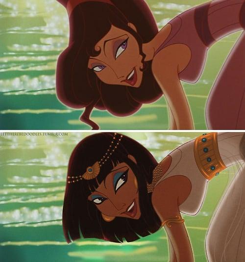 Meg as a Different Race